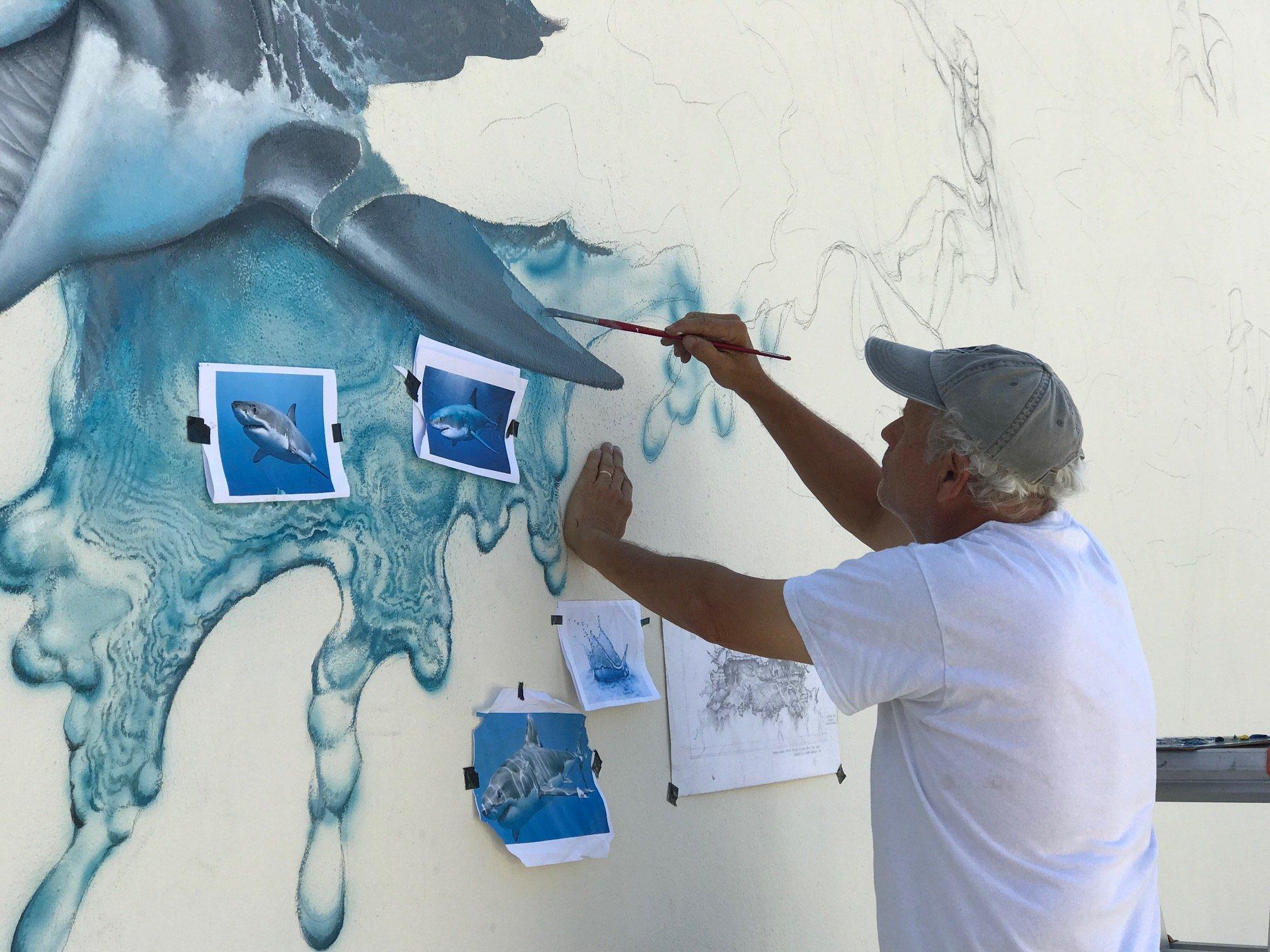 Steve painting 4-24 2