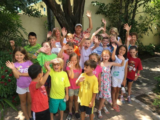 ART EXHIBITION - August - Summer Fun Kids & Teens