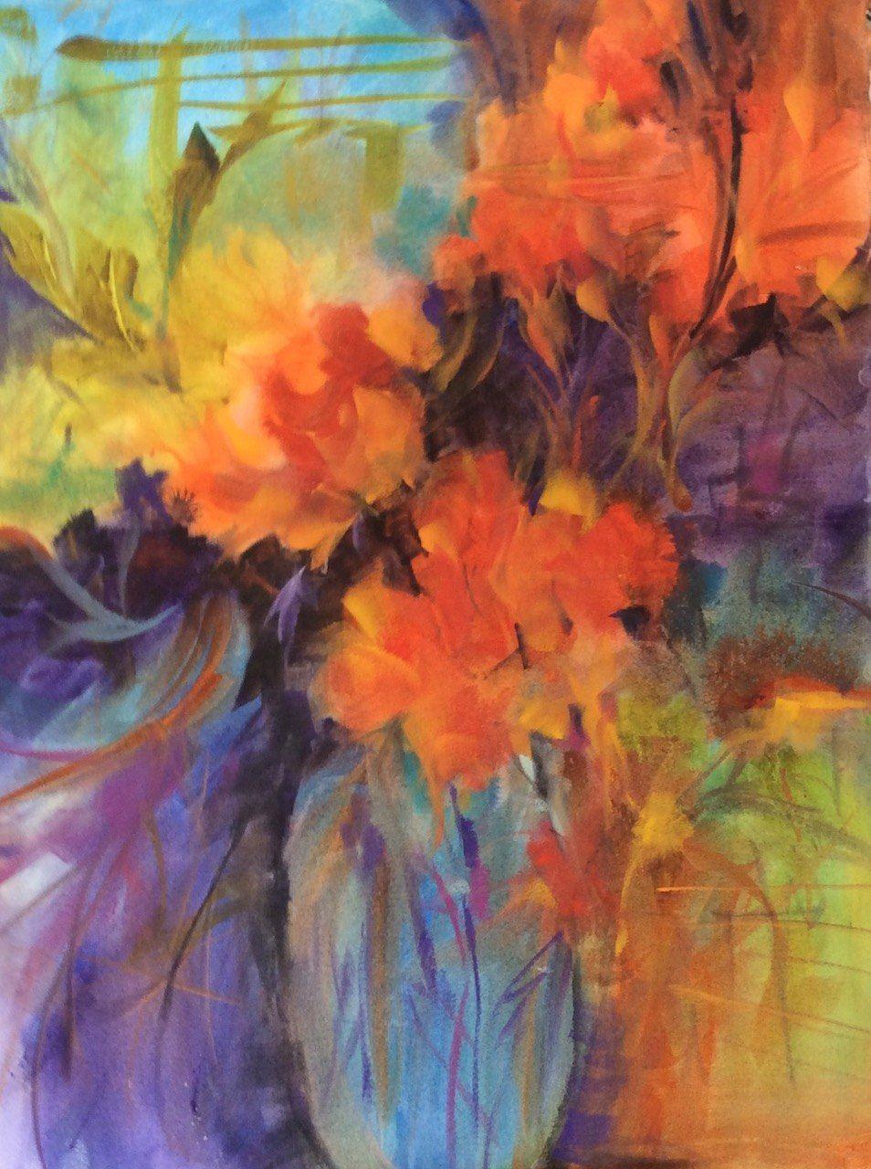 Art Exhibition - May - A Walk in My Garden - Karen Ann Patton