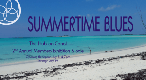 2nd Annual Members Exhibition & Sale- Summertime Blues