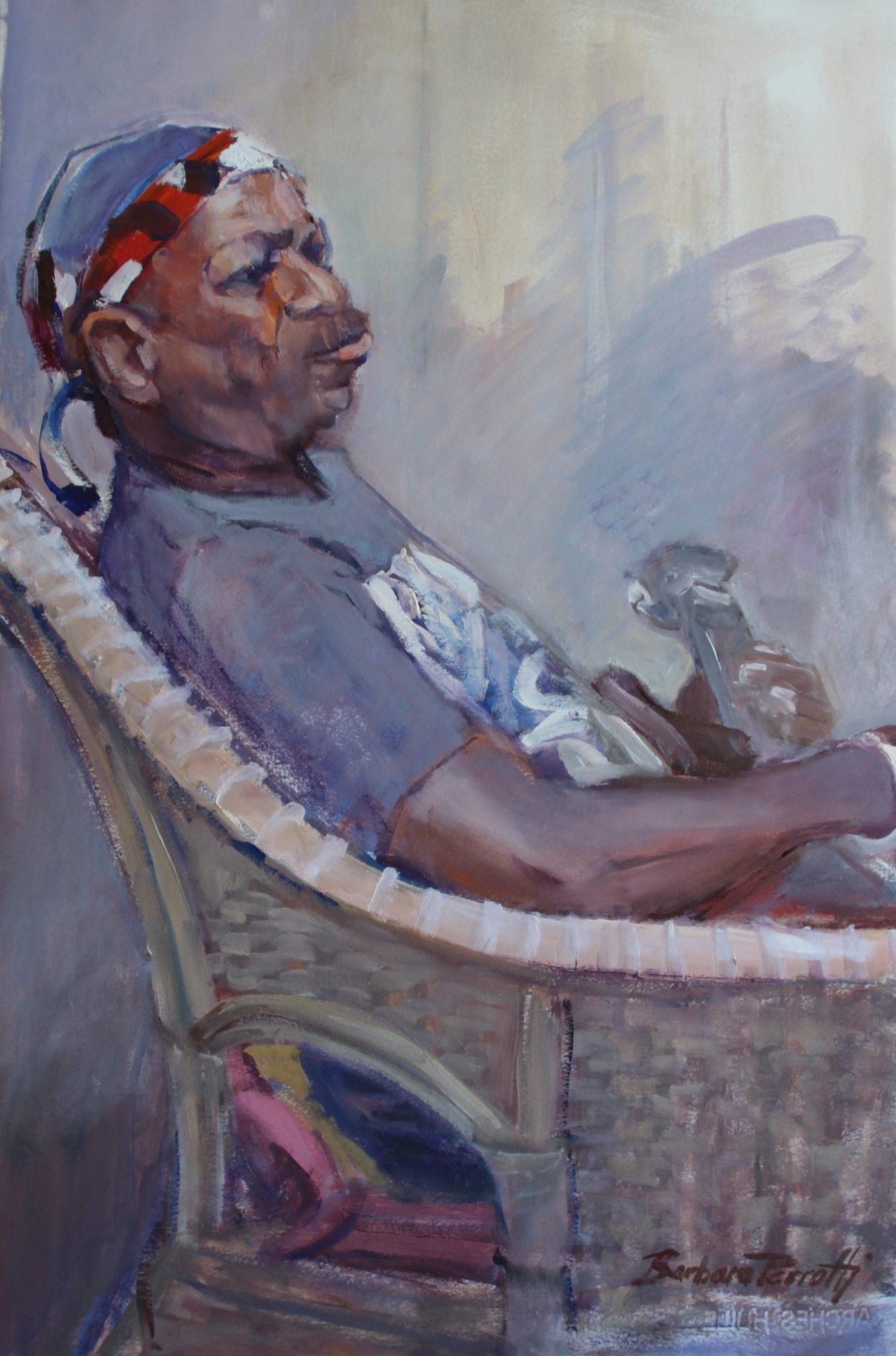 Art Exhibition - March - Thursday's Model, My Personal Interpretations - Barbara Perrotti