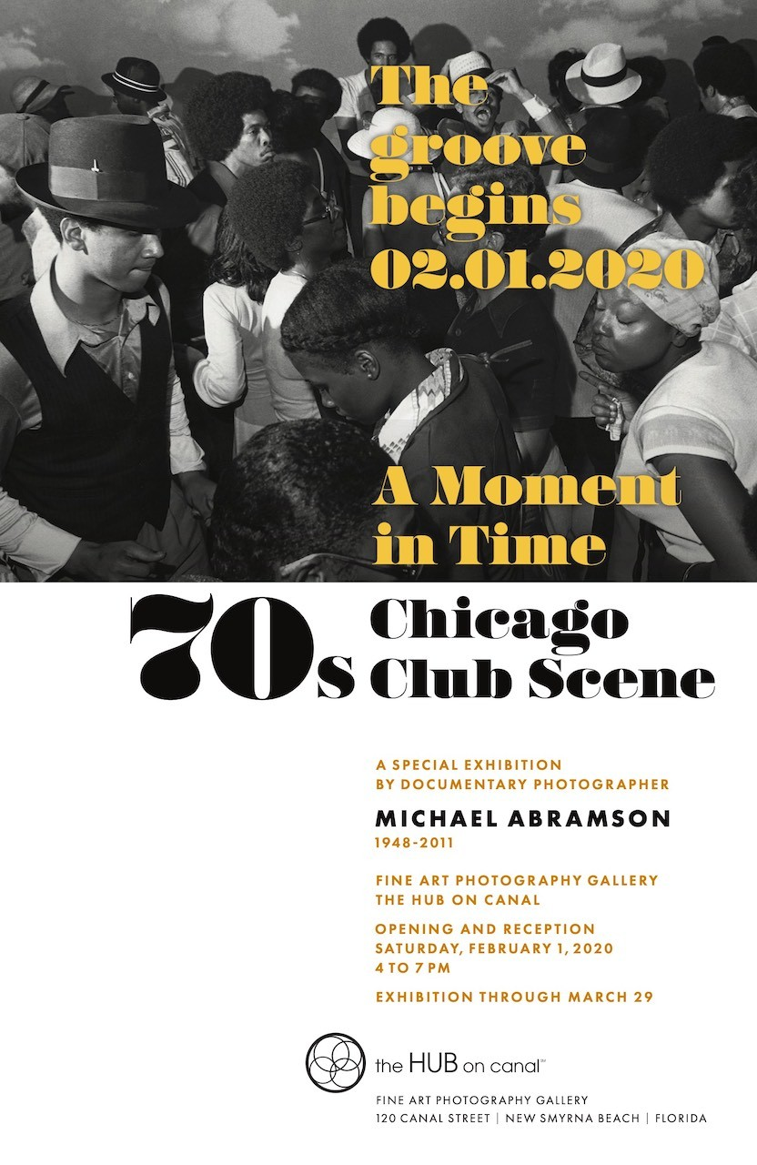 Photography Exhibition - A Moment in Time: The 70s Chicago Club Scene - Michael Abramson