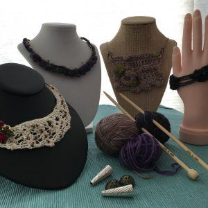 knitted jewelry photo