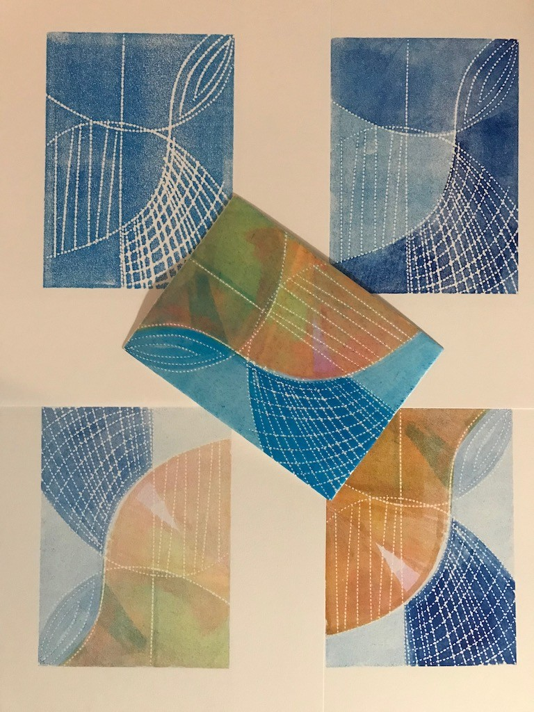 Printing with Styrene Plates with Jennifer Harper