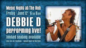 Debbie D June 12 FB art