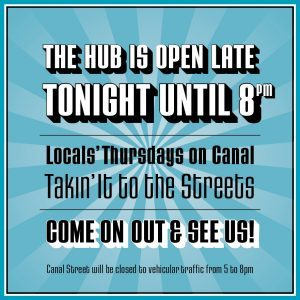 The Hub - open tonight IG+FB post 1