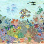 Coral Reef 18x24