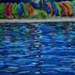 Kayak Rainbow, JB Fish Camp, NSB