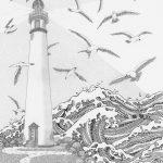 Lighthouse 11 x 14