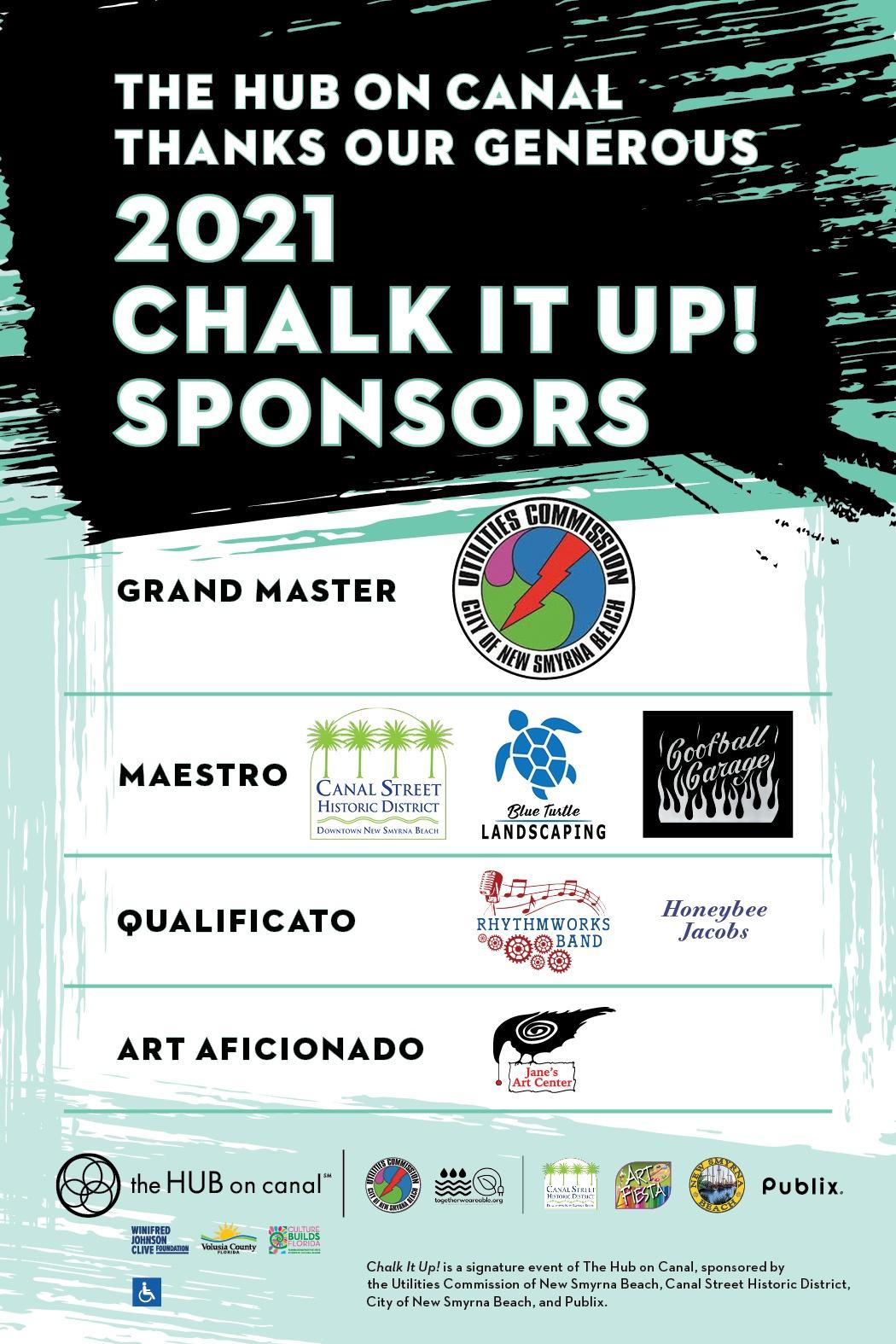 2021 Chalk It Up sponsors FB boost