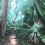 Gessinger, Al_Green Spring Trail_Oil on Canvas_30X40