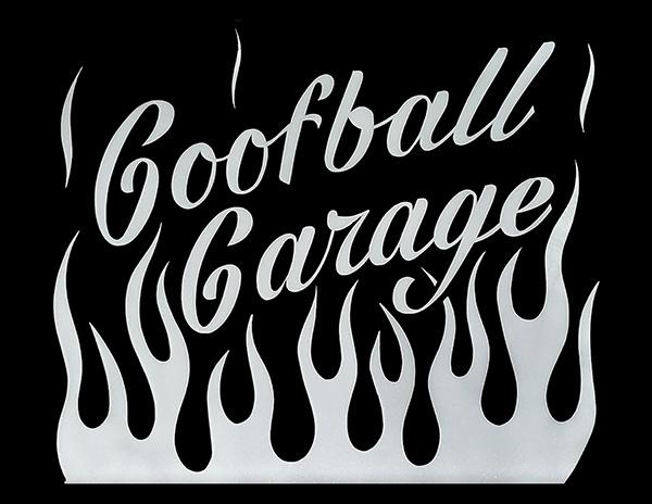 Goofball garage logo