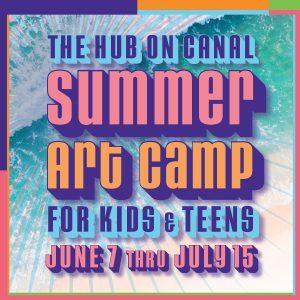 Summer Art Camp 2021 sq art for web